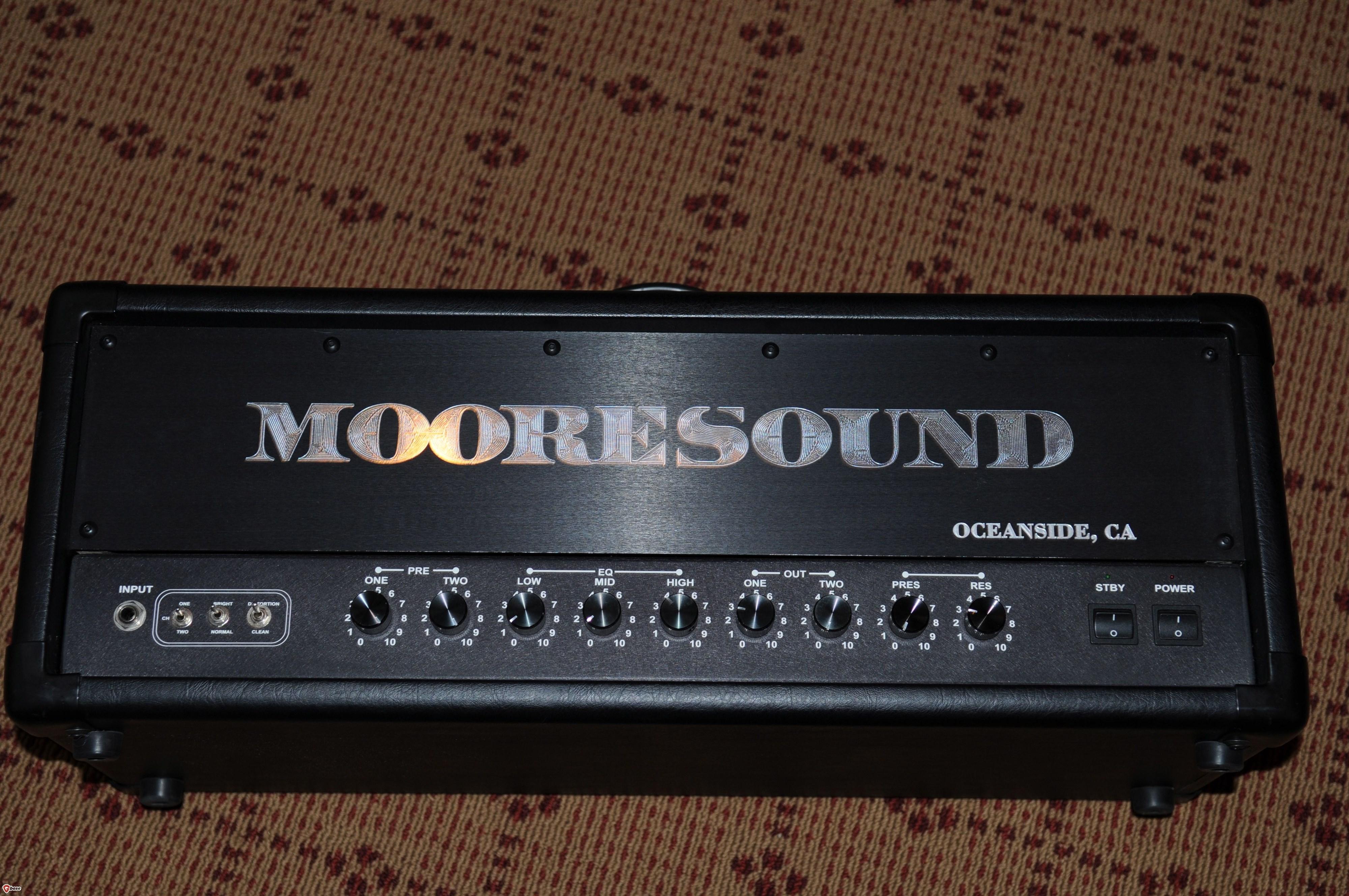 2012 Mooresound 50w Marshallesque HEAD