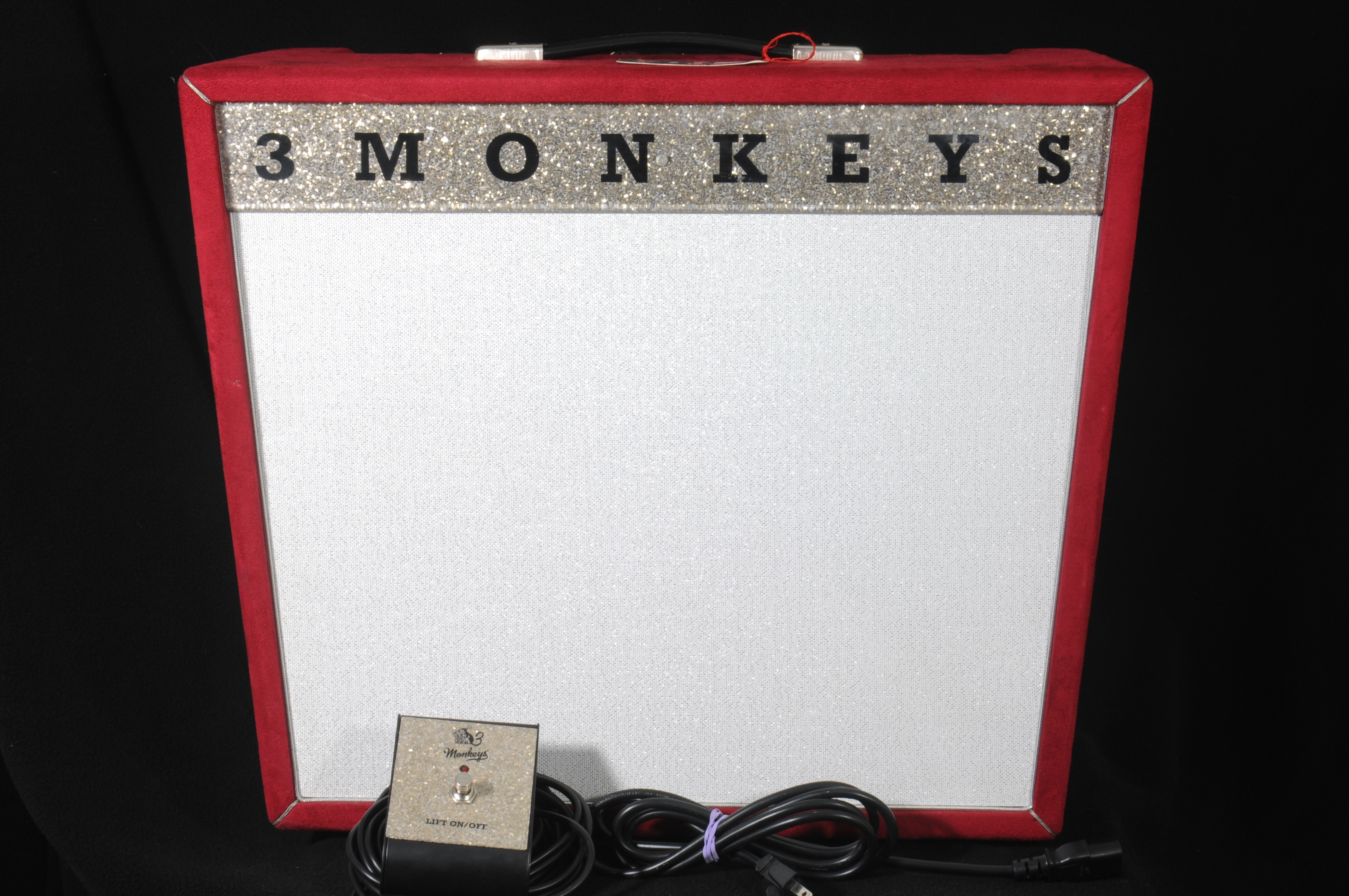 2012 Three Monkeys Orangutan – RED SUEDE!