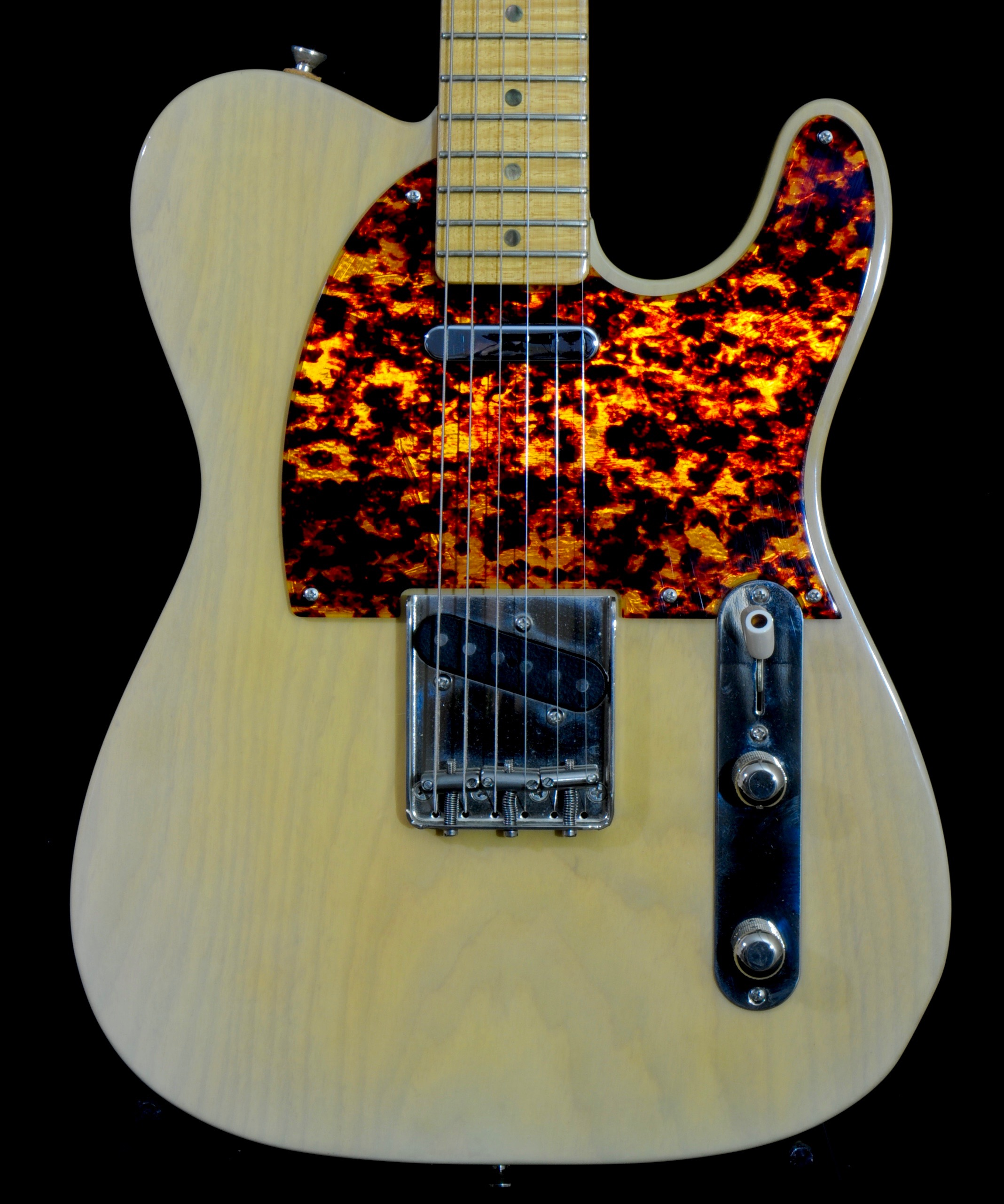 DeTemple '52 Tele  – Rare White-Burst