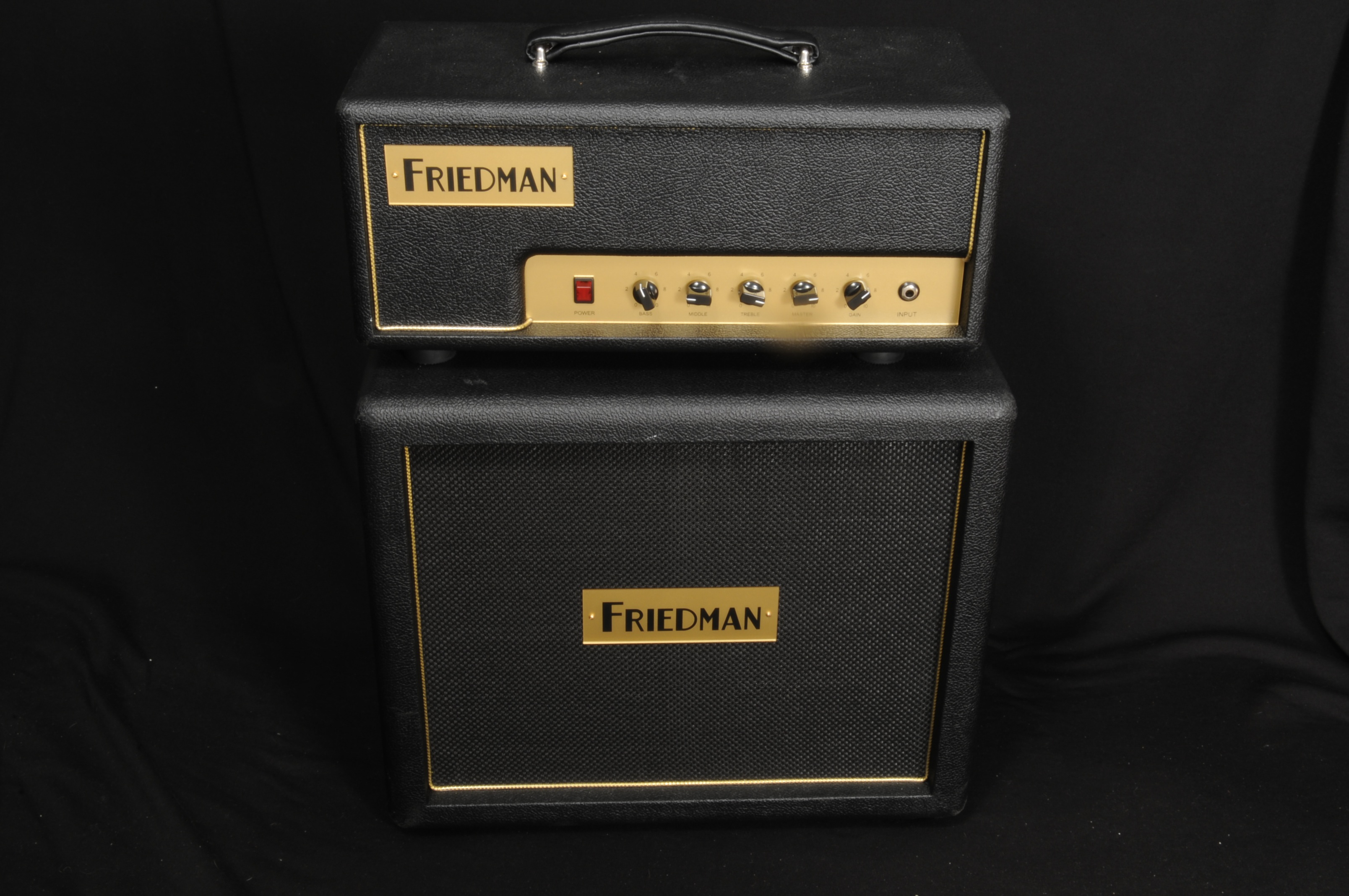 Friedman Pink Taco Head & 1-12″ Cab – Exc Condition