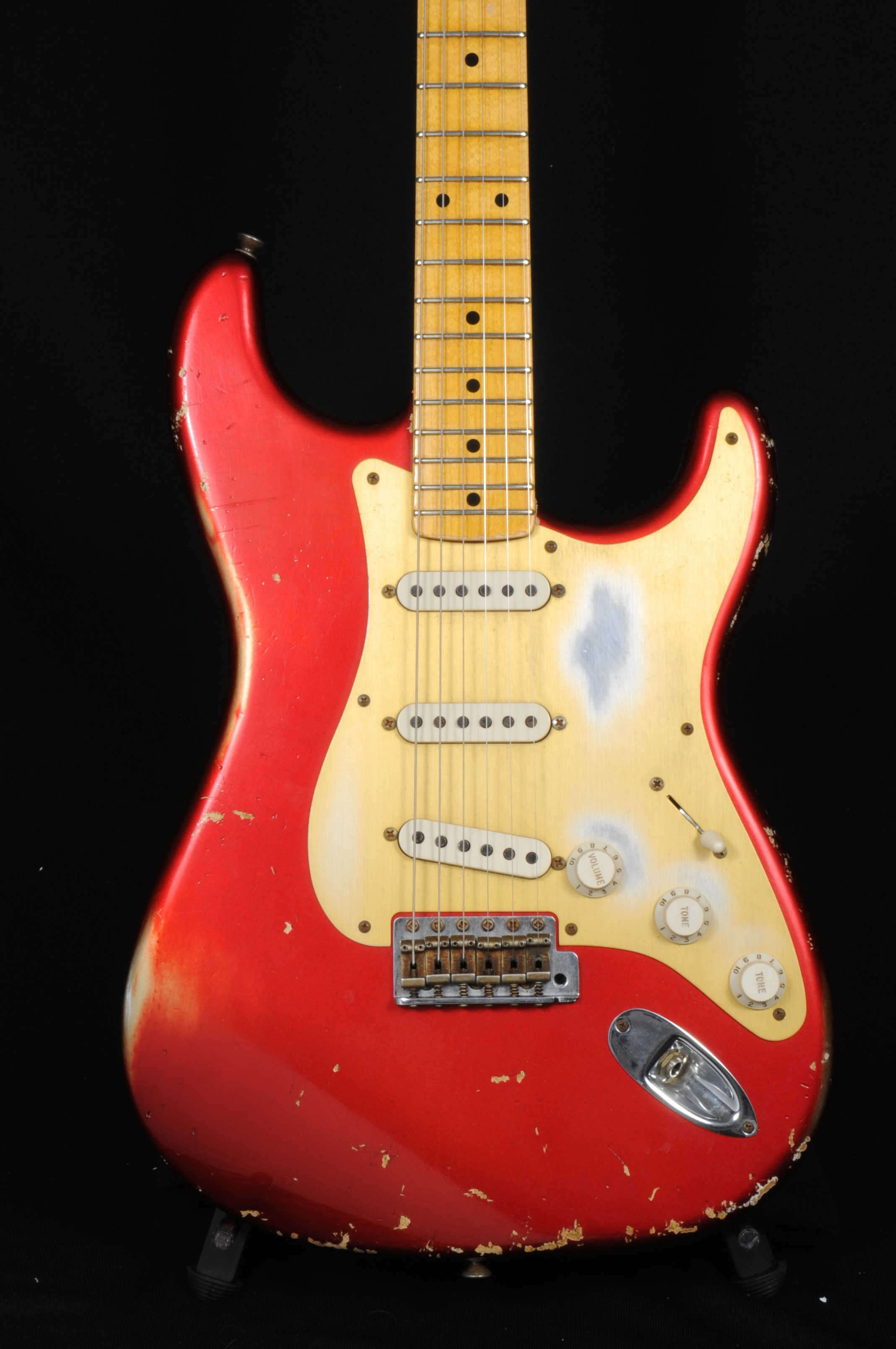 Fender Custom Shop '58 Strat Relic Ltd Ed – Candy Apple Red   1-of-30