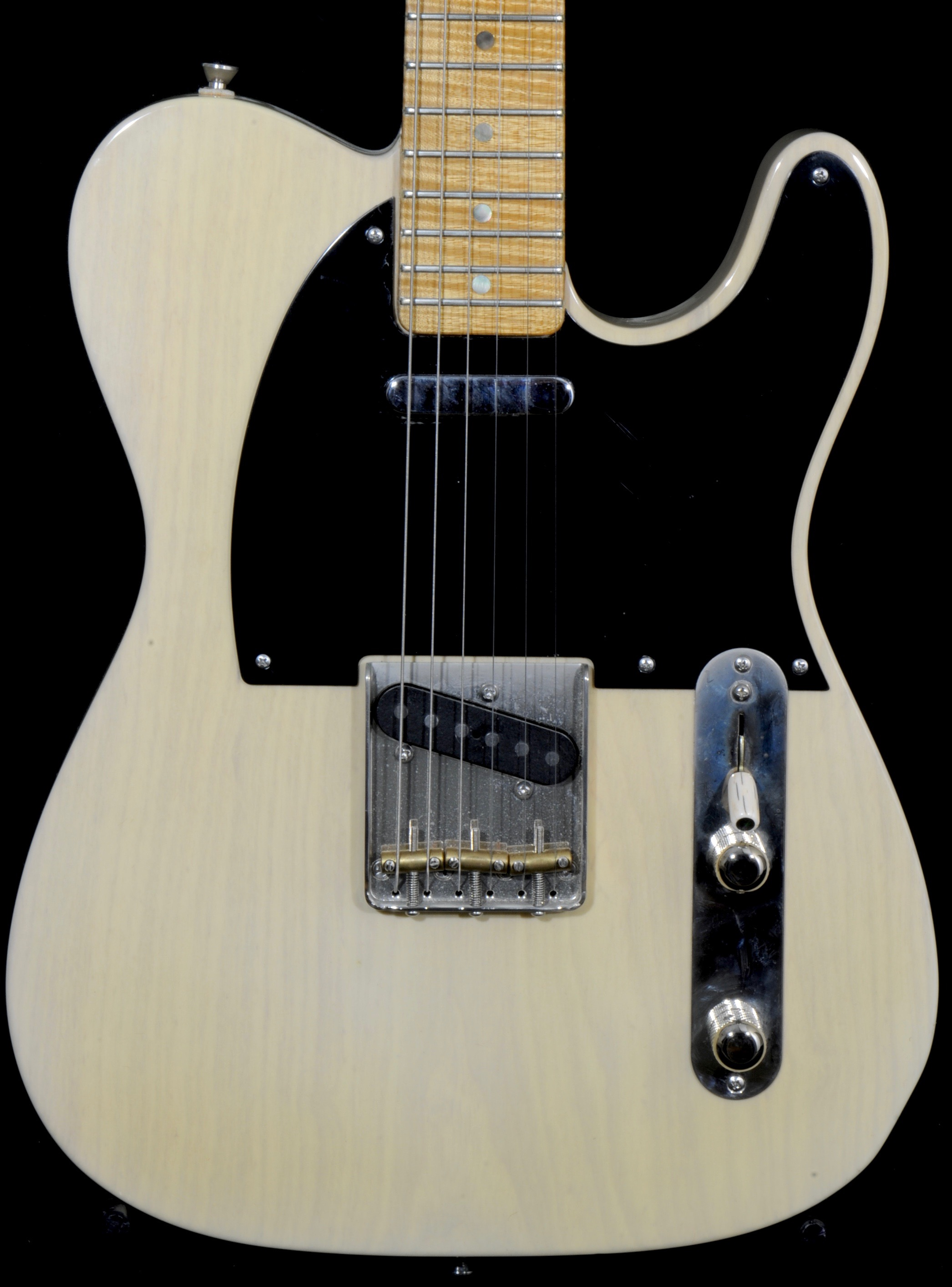detemple trans white tele 2007 1 piece ash prime guitars. Black Bedroom Furniture Sets. Home Design Ideas