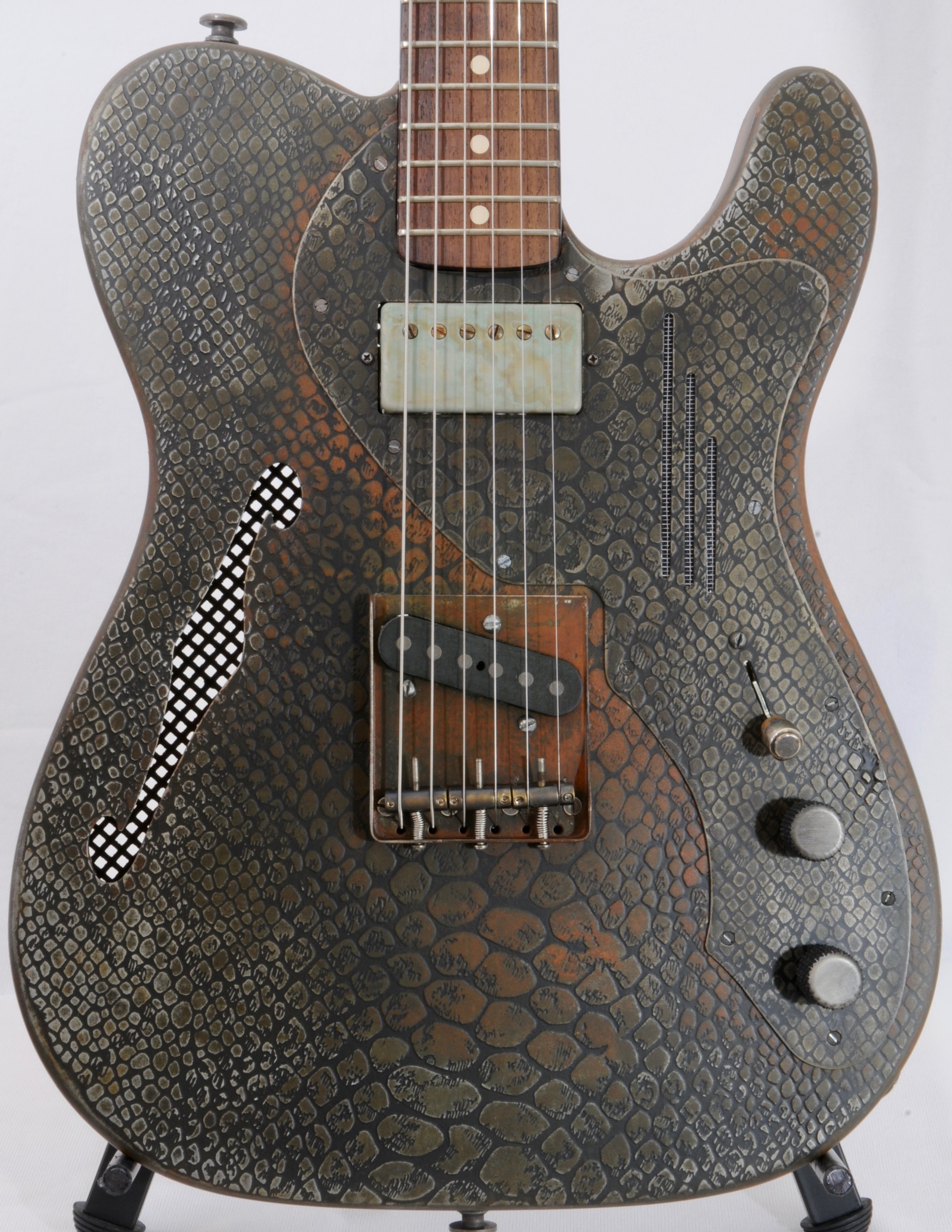 James Trussart Deluxe Steelcaster – 2015 New