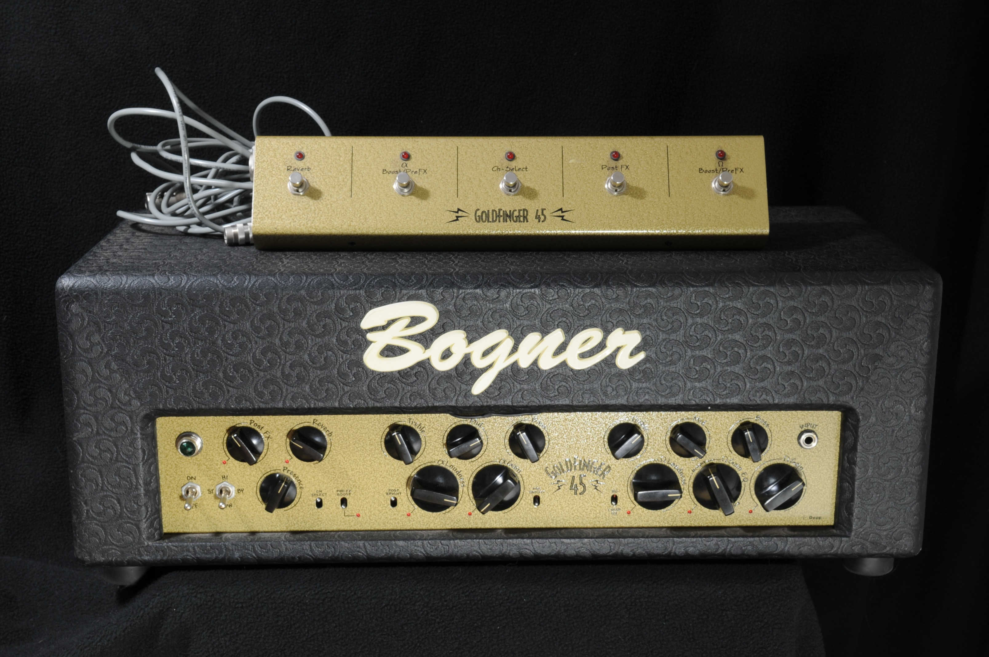 Bogner Goldfinger 45 w Footswitch