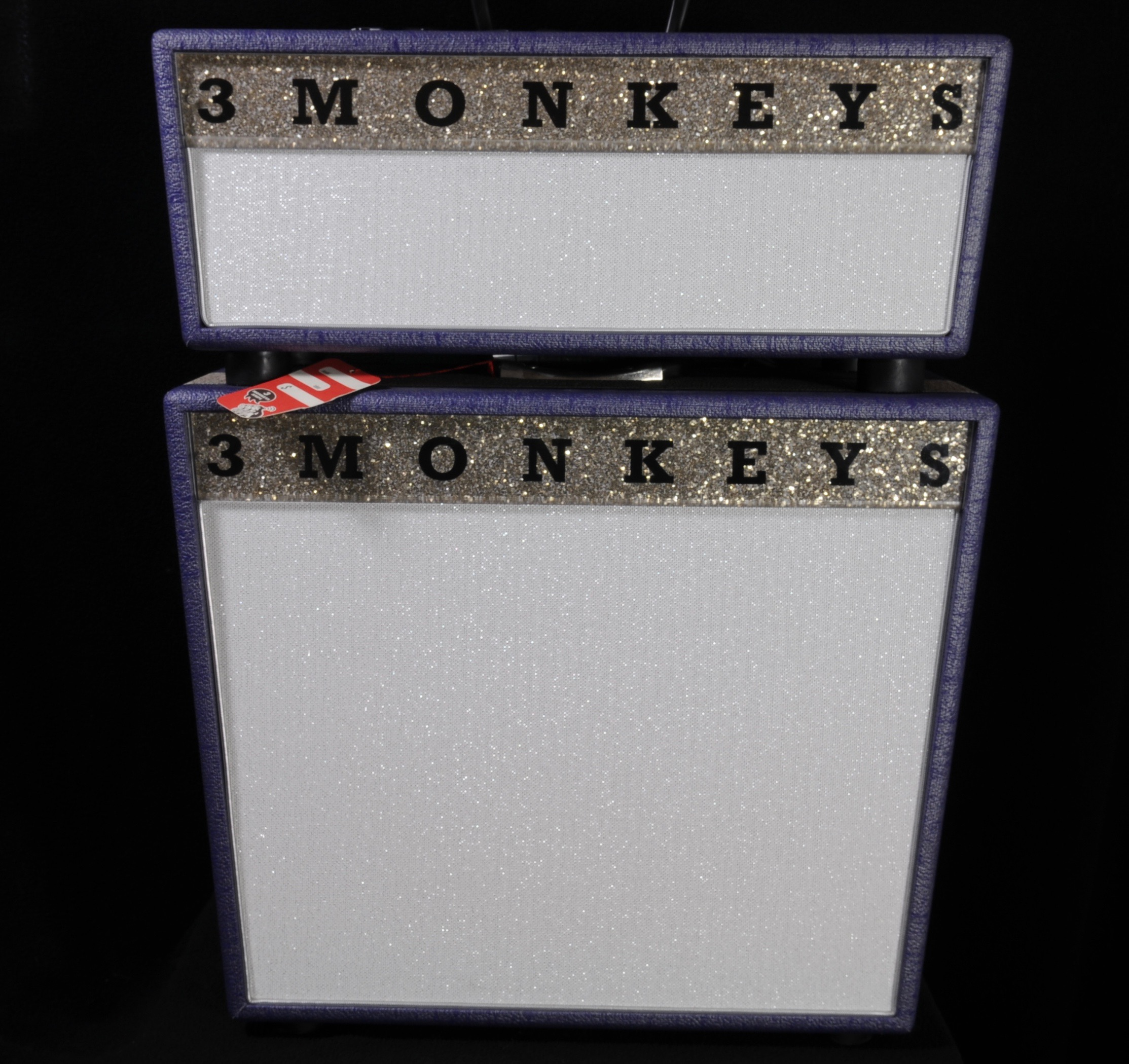 Three Monkeys Sock Monkey Head & 1-12″ Cab