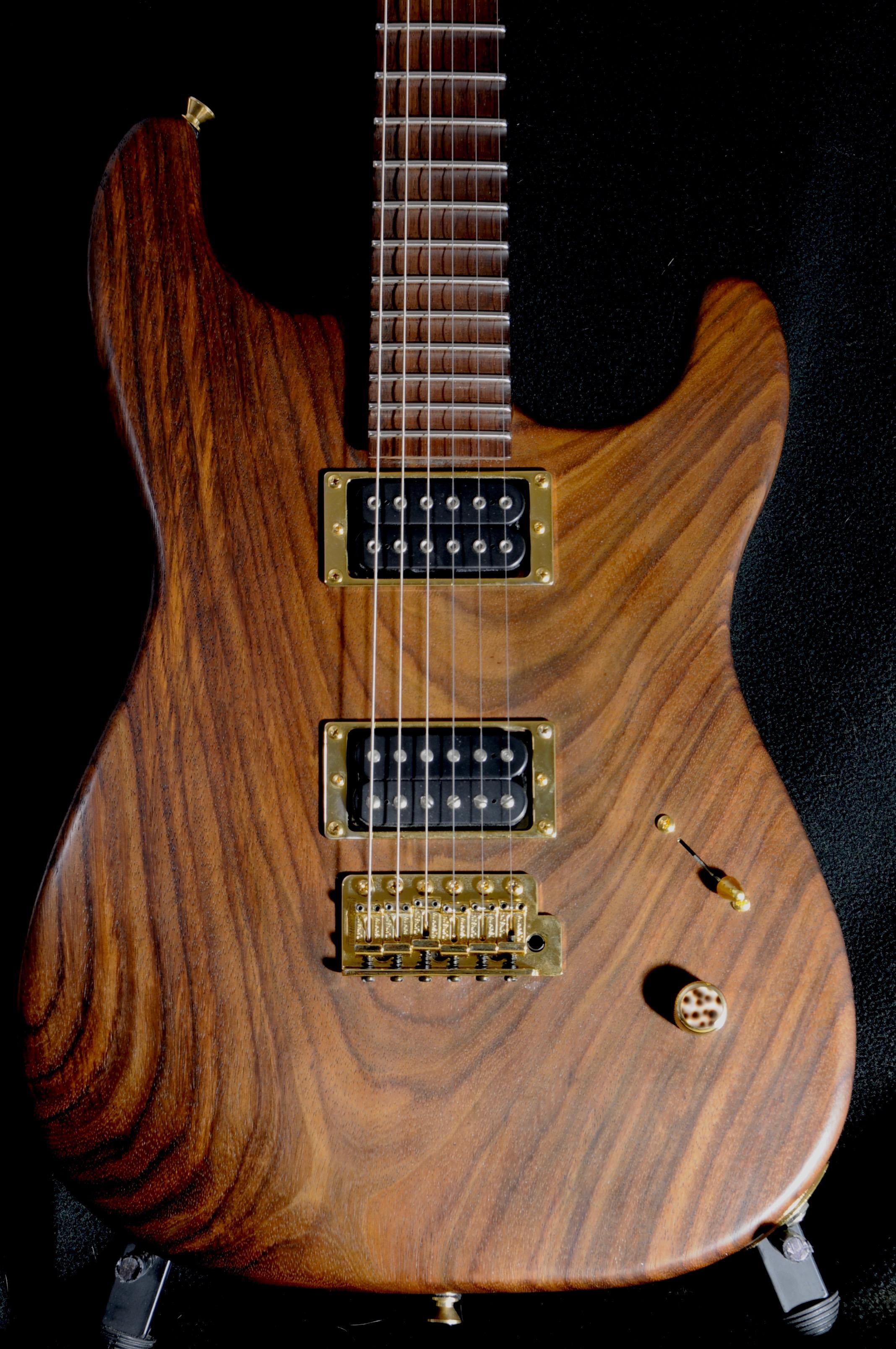 DC Custom Guitar – Exotic Woods!