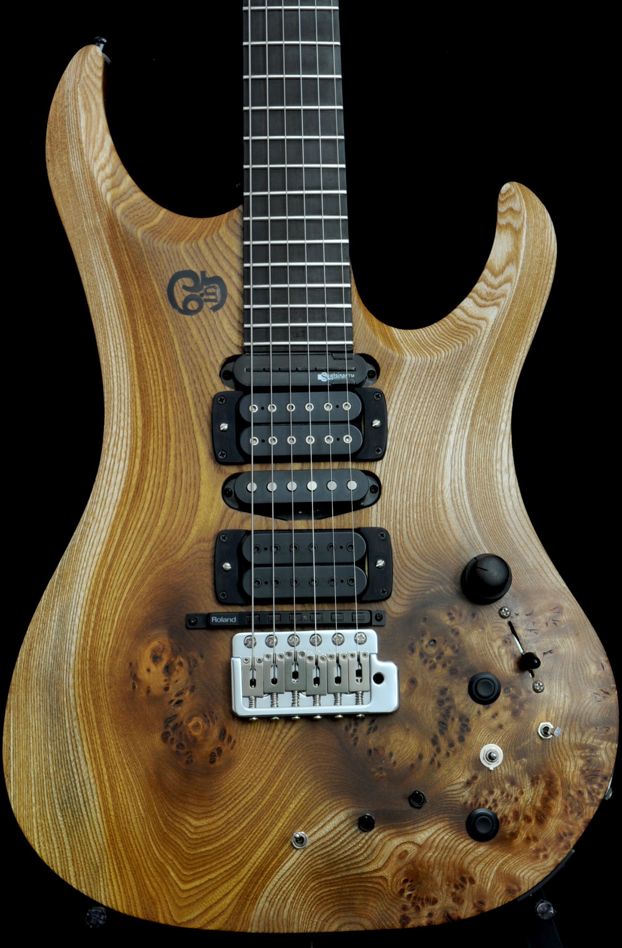 Crimson Guitars : Custom 1-off