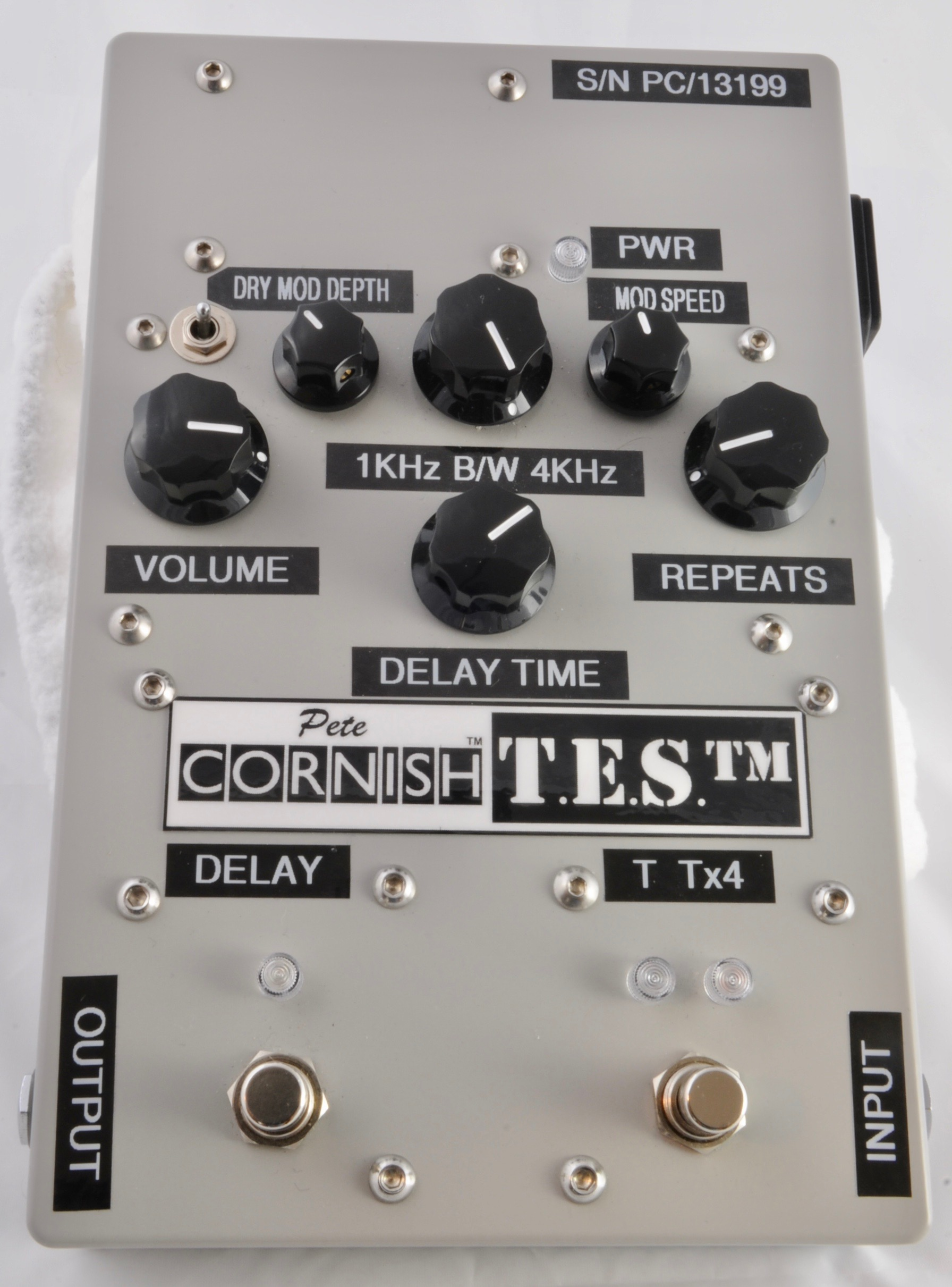 Pete Cornish TES Delay