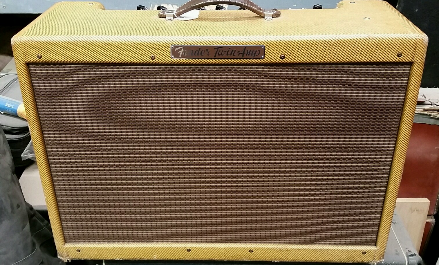 1958 Fender High Powered Tweed –  Near Mint