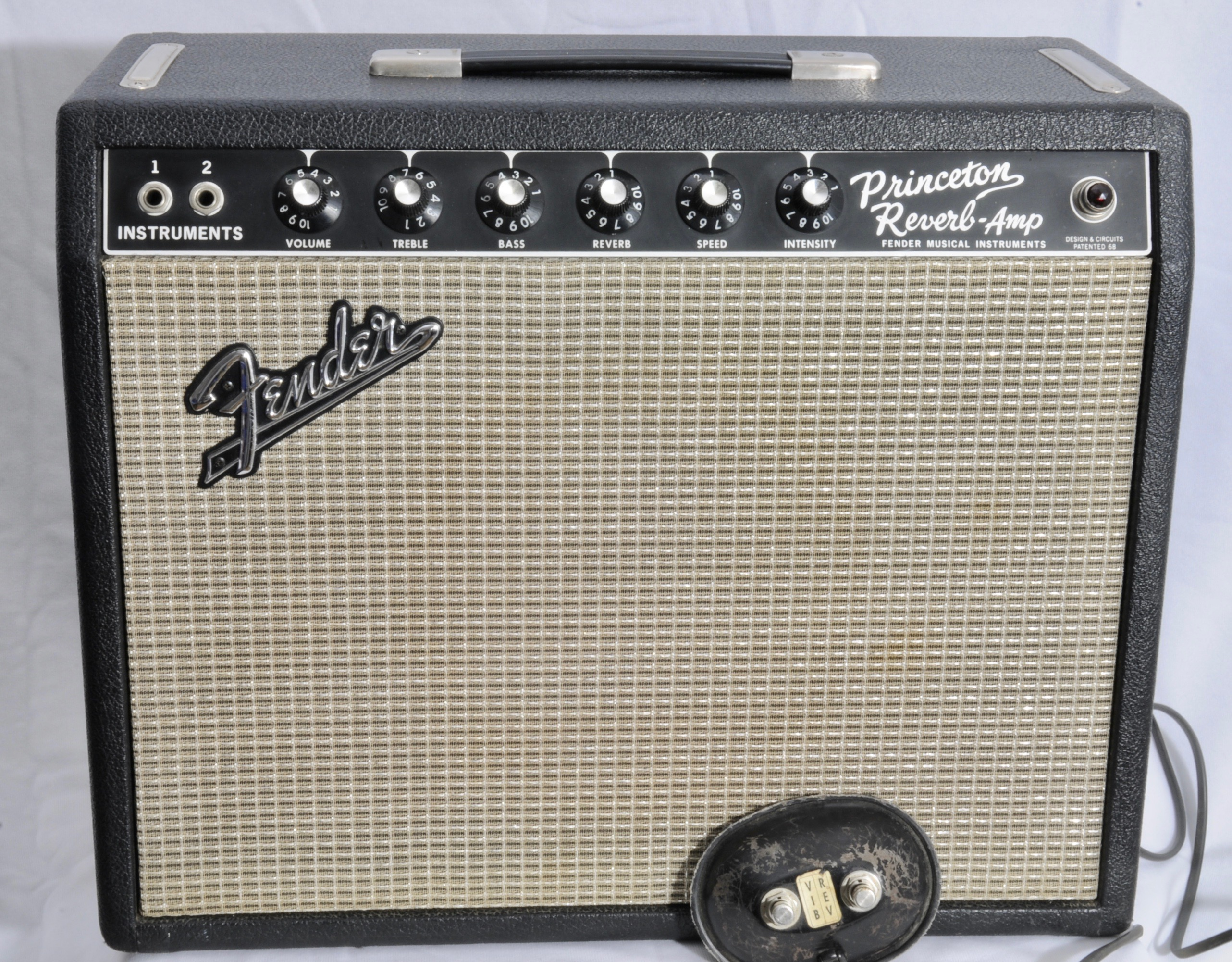 1966 Fender Princeton Reverb – Collector Clean