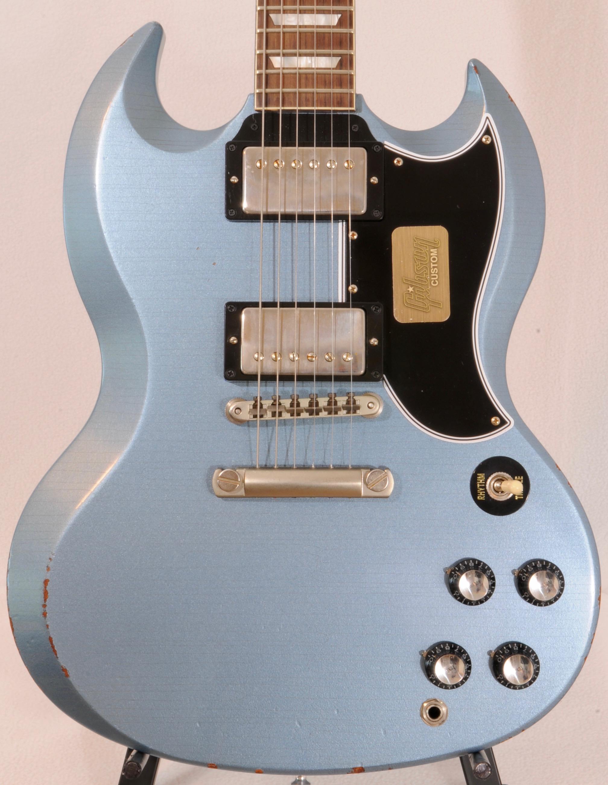 2017 Gibson Custom Shop AGED SG Pehlam Blue LTD ED (of 25)