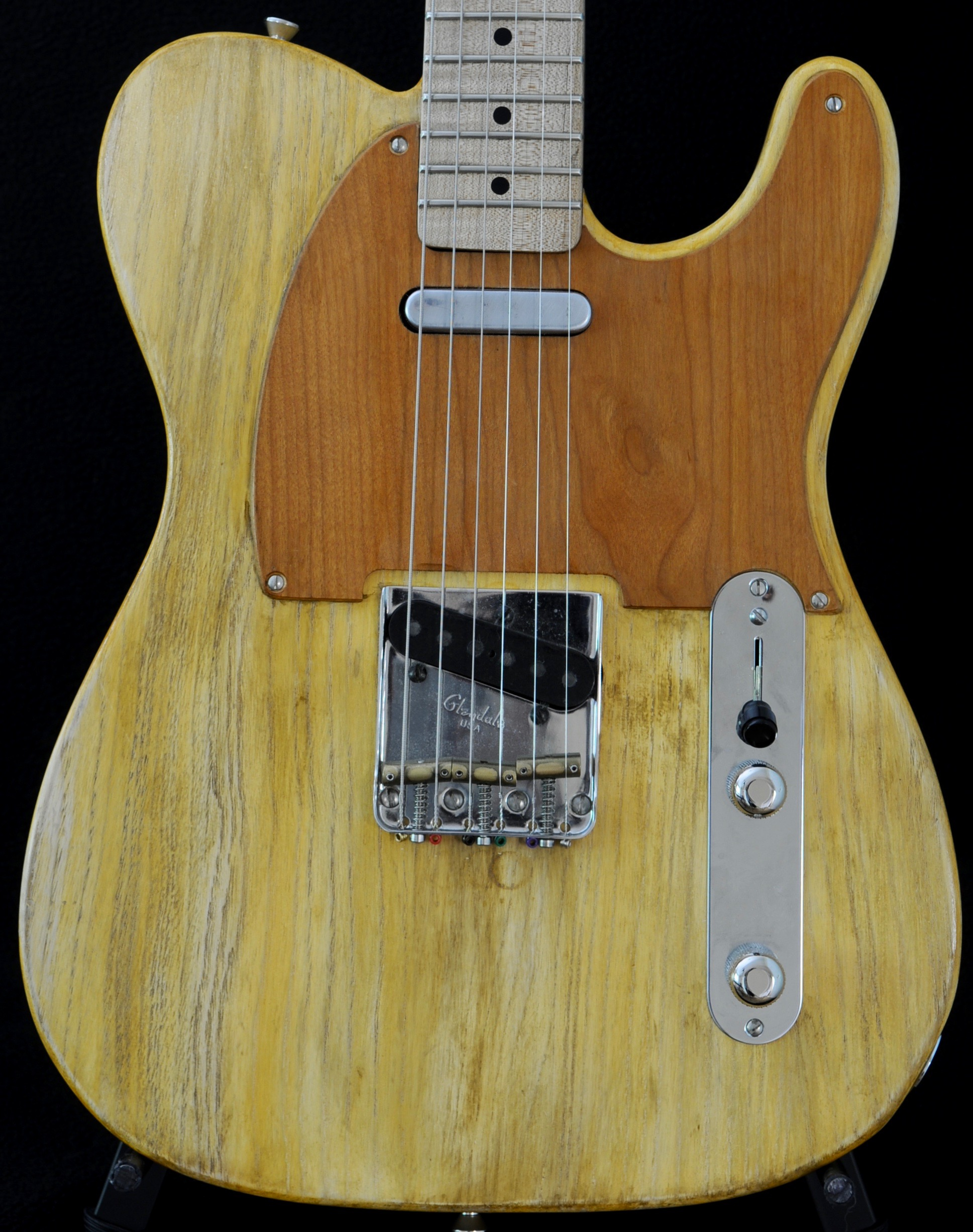 Rick Kelly KORINA TELE – Old Growth 50s Korina from Gibson Stash