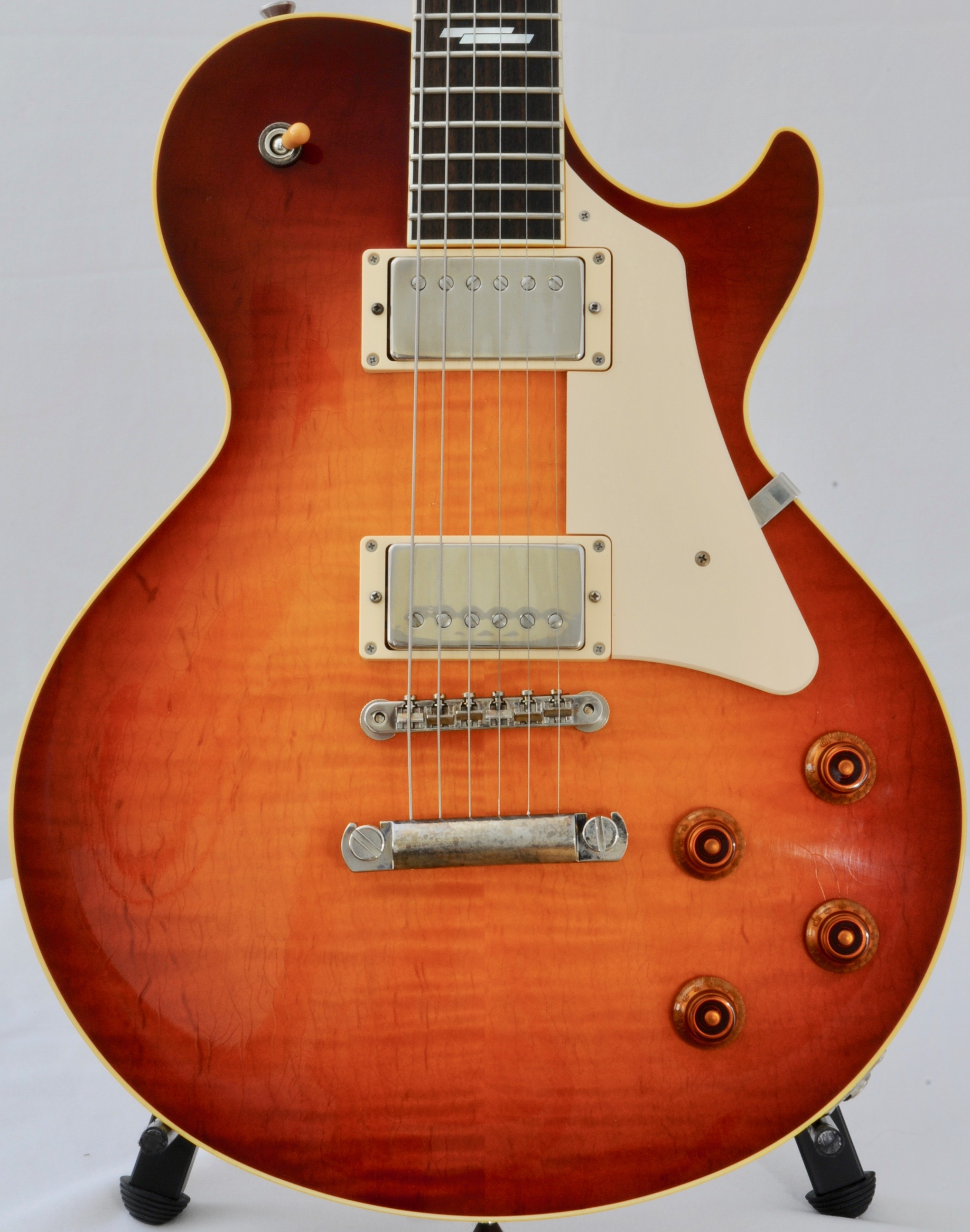 2017 Collings CL with Deluxe Features: Throbak / Inlay / Aging