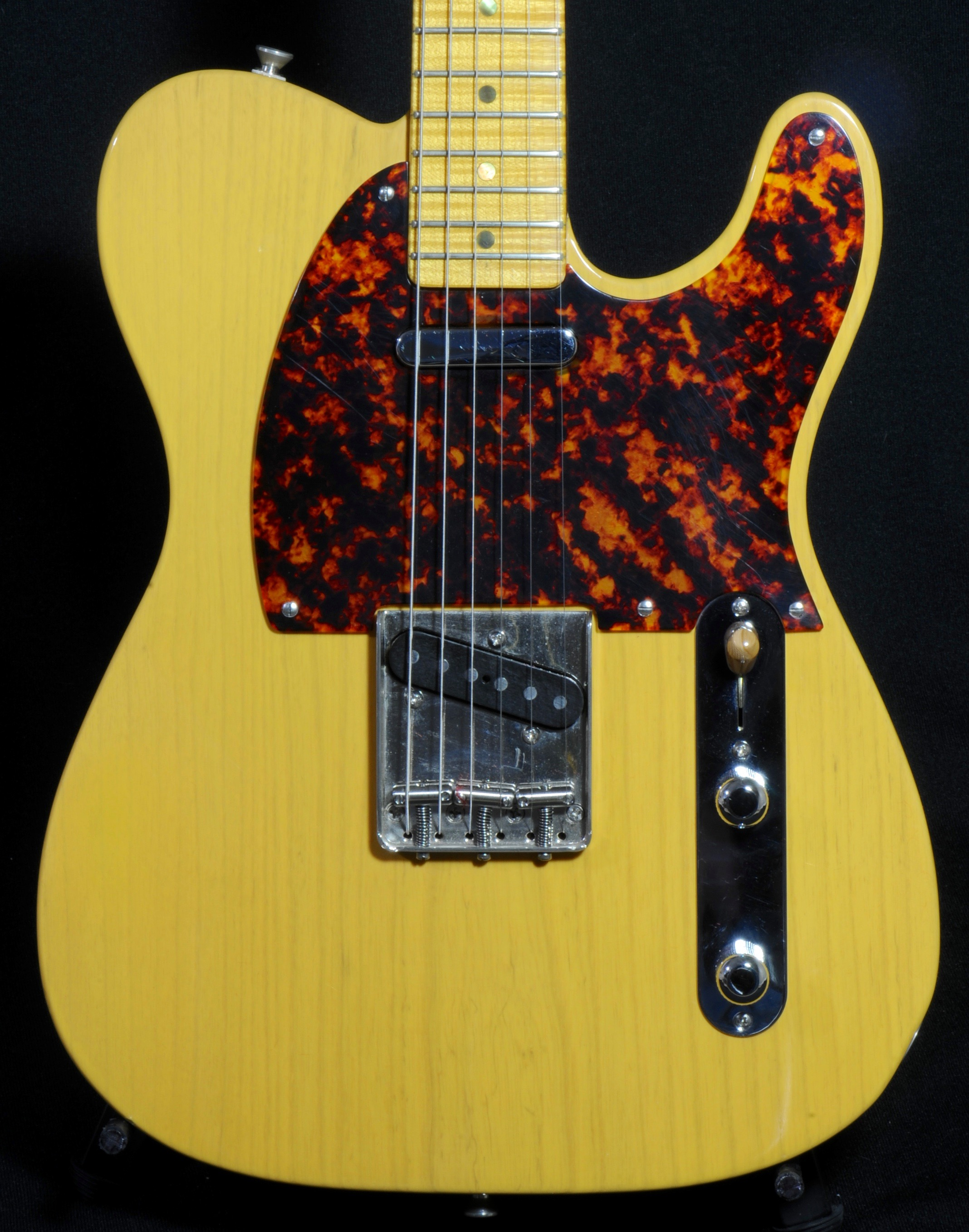 Detemple '52 Tele :  Hall-of-Fame Tone on THIS Guitar