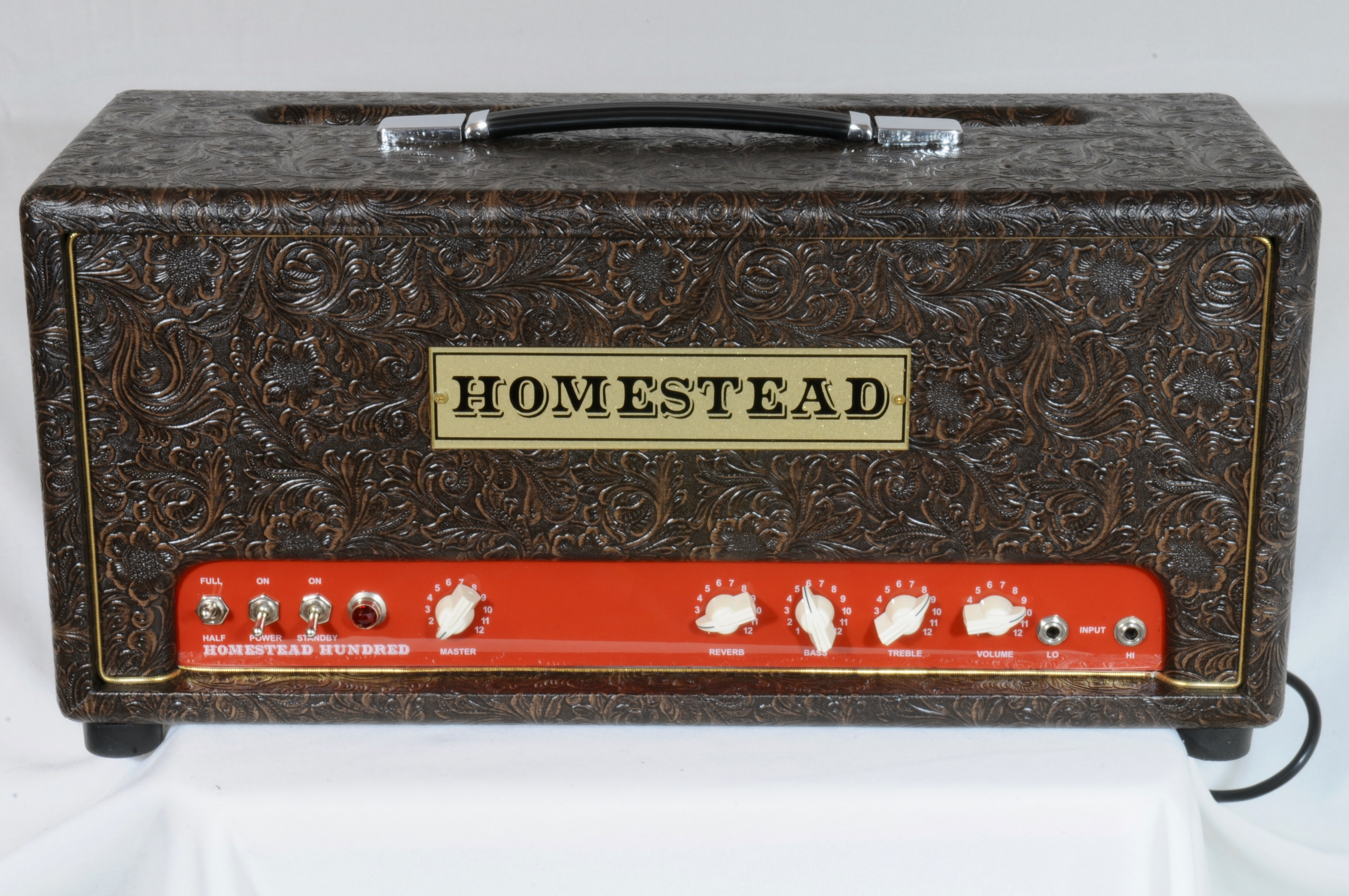 Homestead Hundred – UPGRADES GALORE – 6550 Tubes & Effects Loop – SAME SETUP AS WARREN HAYNES