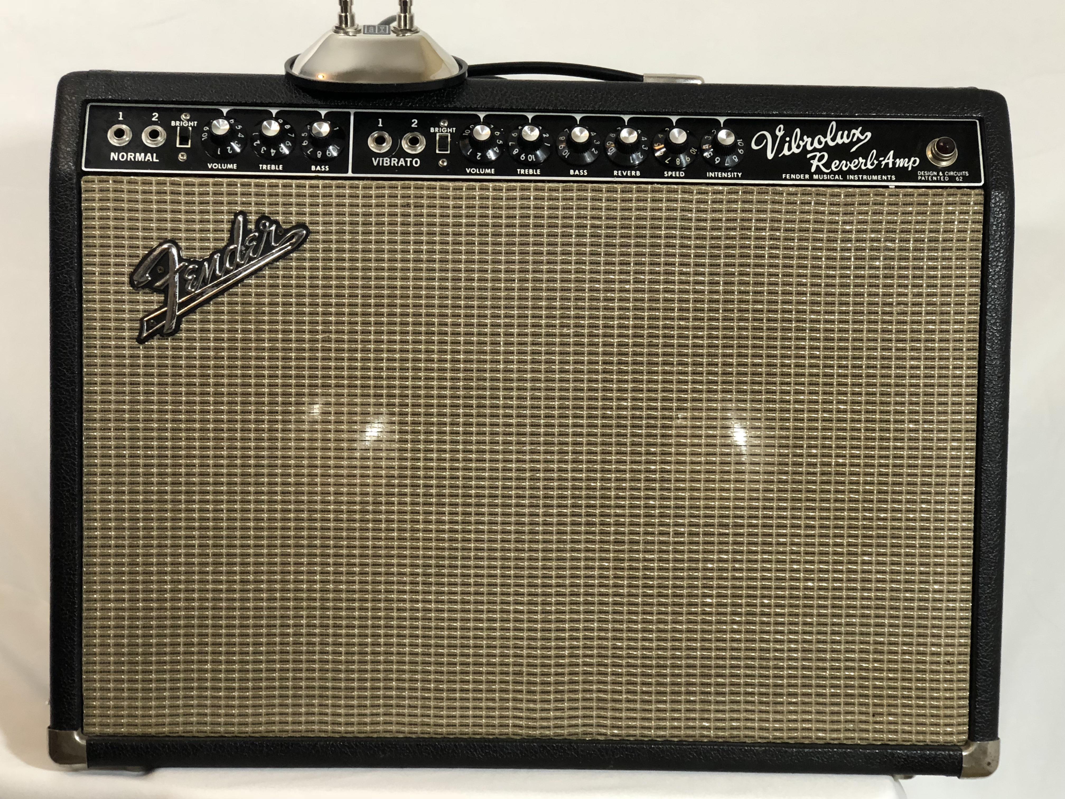 1965 Fender Vibrolux Reverb w JBL 10s