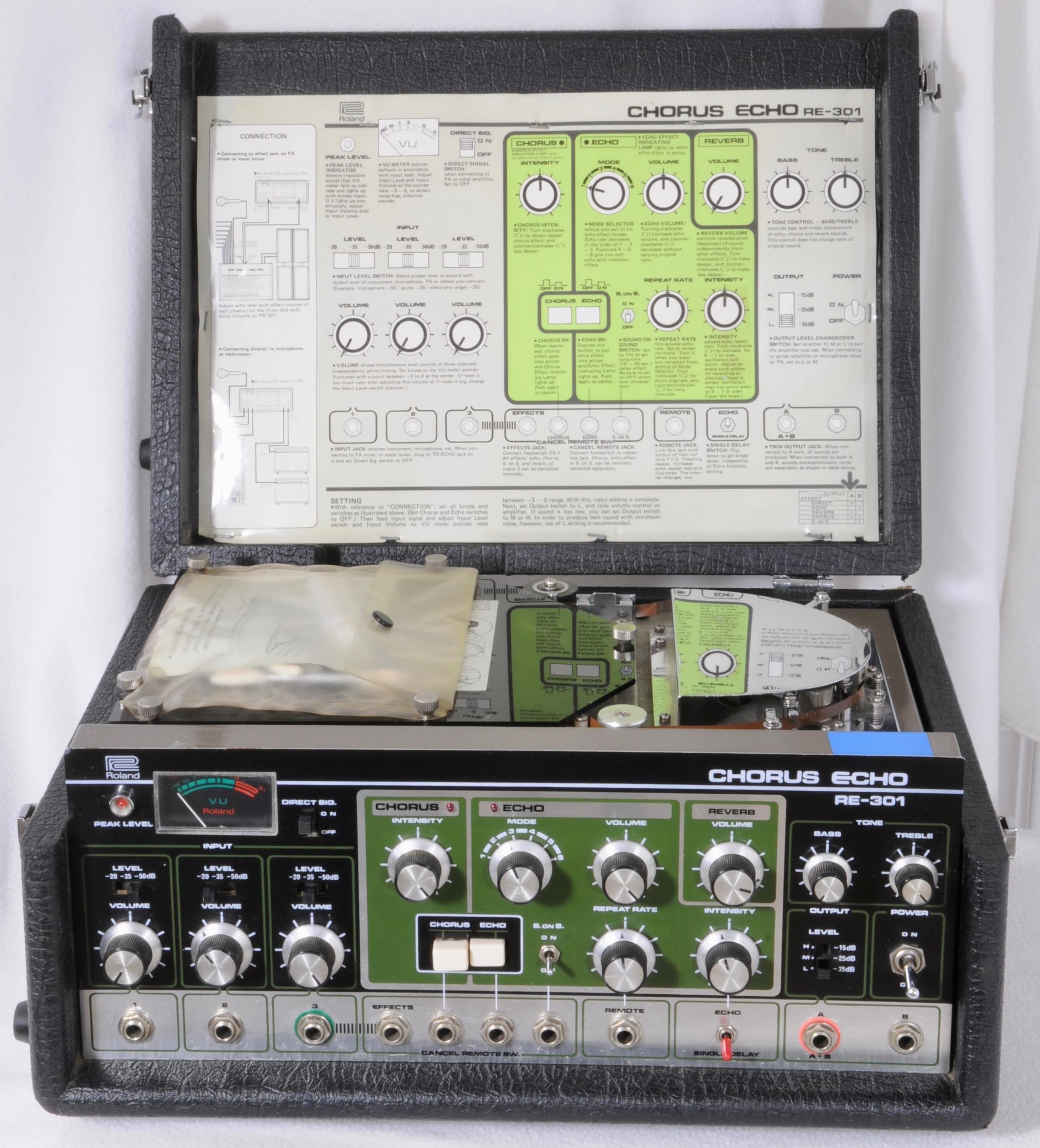Roland RE-301 Chorus Echo : Fresh PRO Service