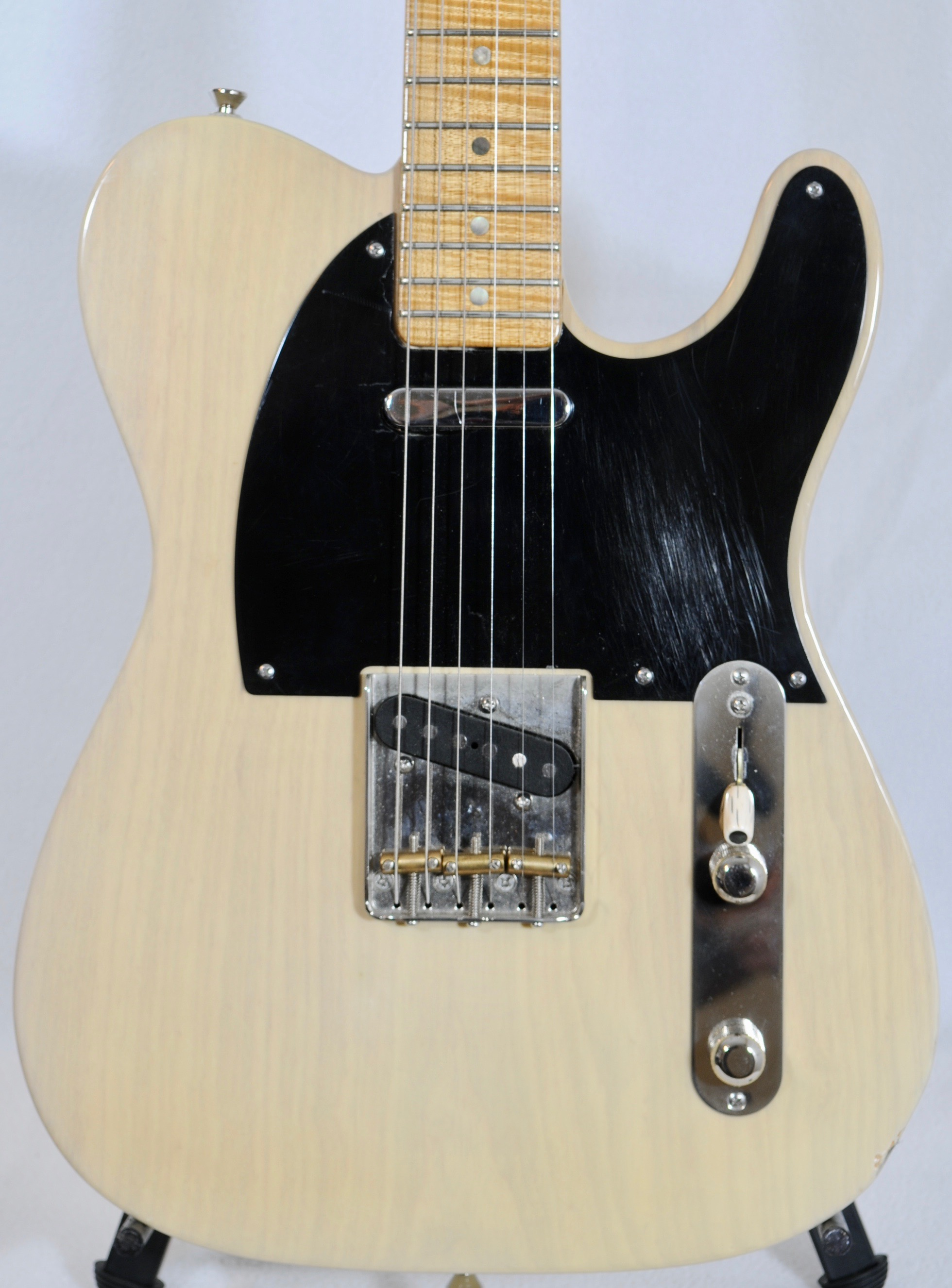 Detemple Tele :  MY PERSONAL GUITAR