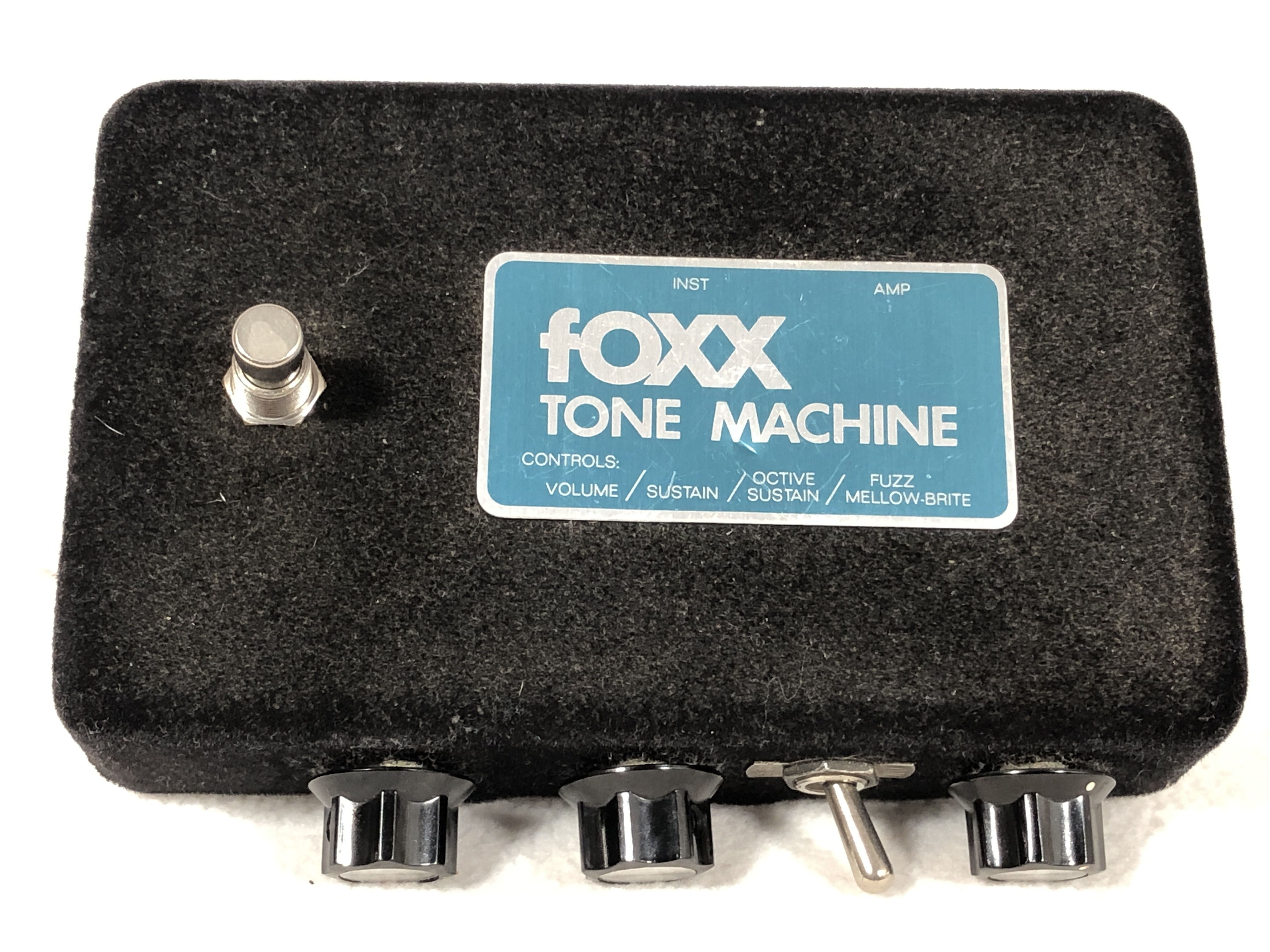 1970s FOXX Tone Machine – Blue Label