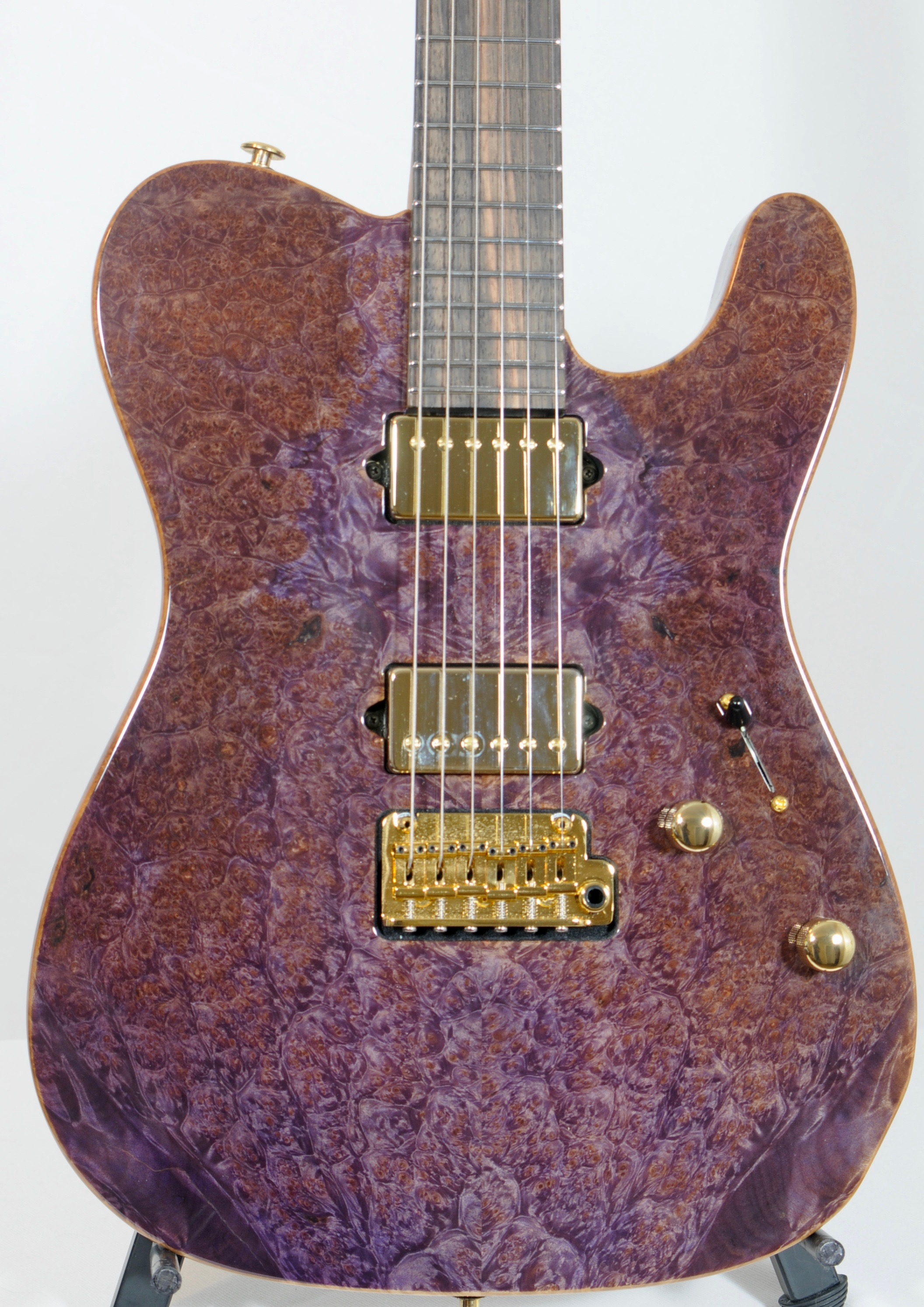 2015 SUHR Classic T 24 – Black Limba / Burl Maple / 5A Birdeye Maple