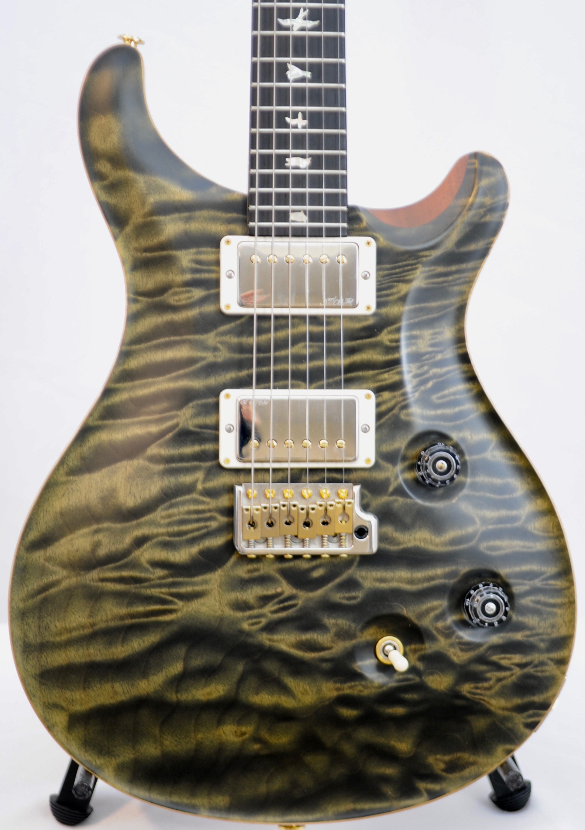 PRS Wood Library CUSTOM 24 :  1-Piece Top!   WOW Unique!