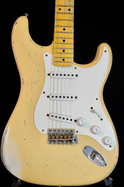 6lb-10oz!  Fender Custom Shop '56 Heavy Relic Custom Collection Time Machine Strat!