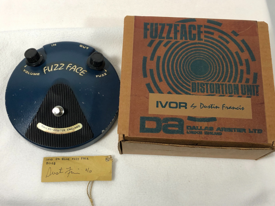 Dustin Francis  BC-108 1970s  Fuzz Face