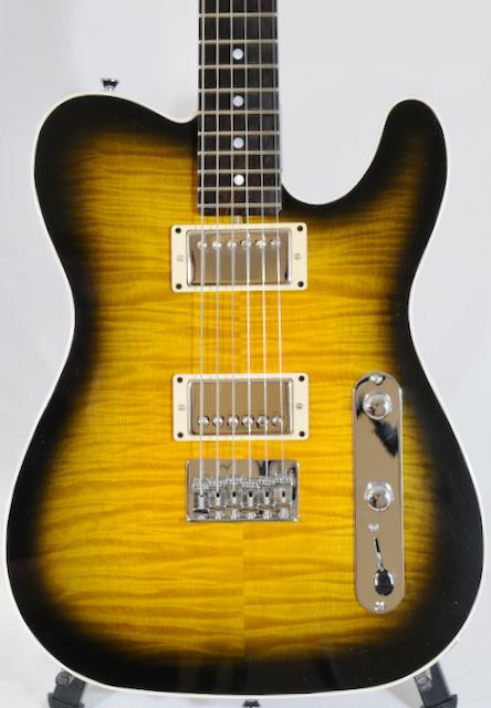"WYSOCKI Custom Tele-Paul w Doyle Pickups:  CHECK OUT THE ""STASH"" WOODS!"