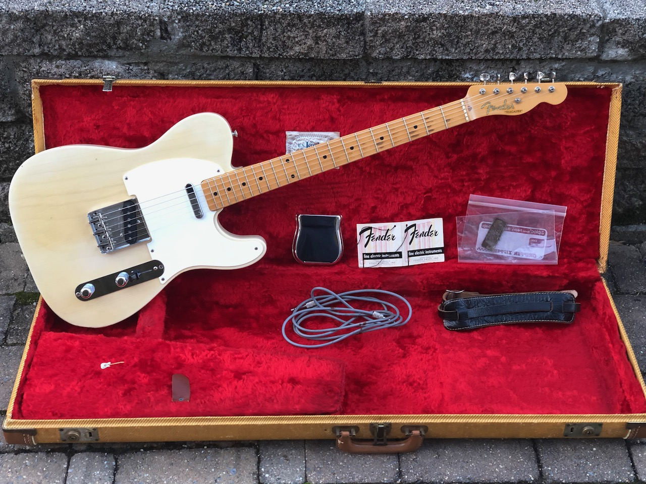 1956 Fender Tele – 100% Original